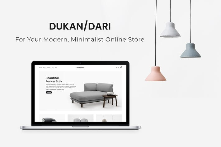 Thumbnail for Dukandari - A Modern, Minimalist eCommerce Theme