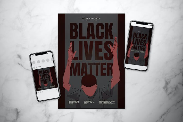 Thumbnail for Black Lives Matter Poster Set