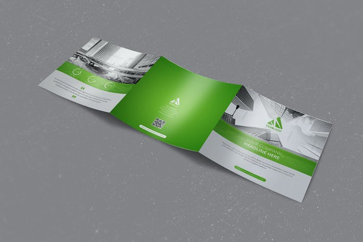 Cover Image For Multipurpose Business Square Trifold