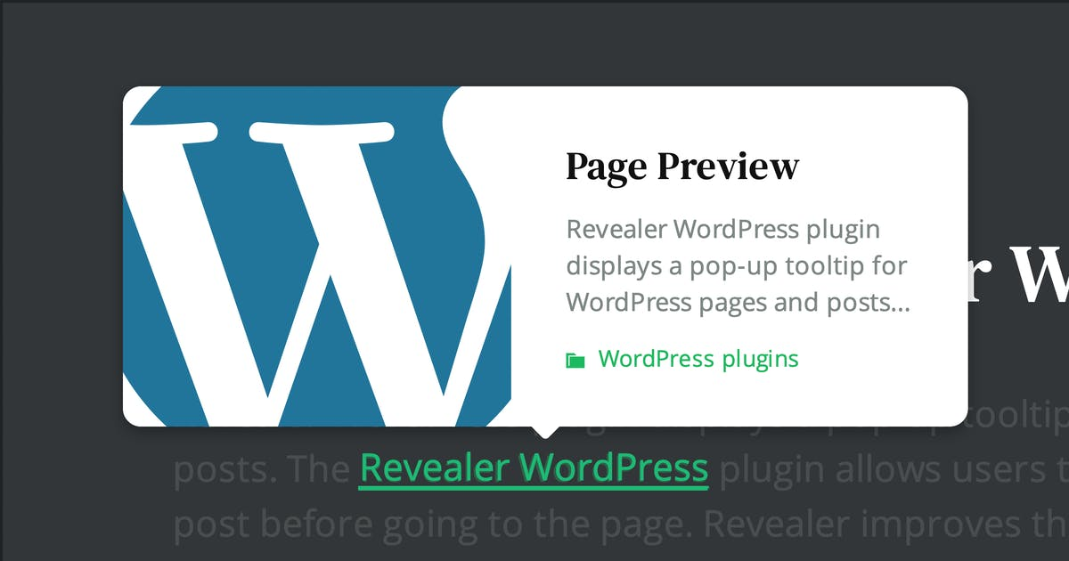 Download Page preview plugin for WordPress by merkulove