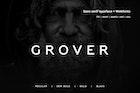 Grover - Modern Typeface + WebFont