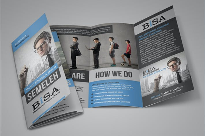 Thumbnail for Bisa Business Trifold Brochure