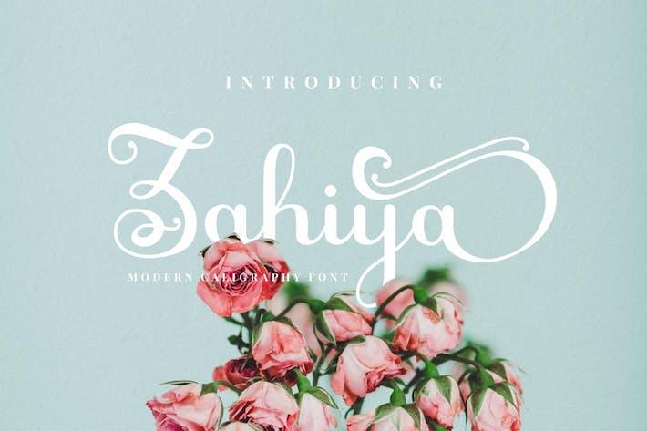 Thumbnail for Zahiya - Modern Calligraphy Font