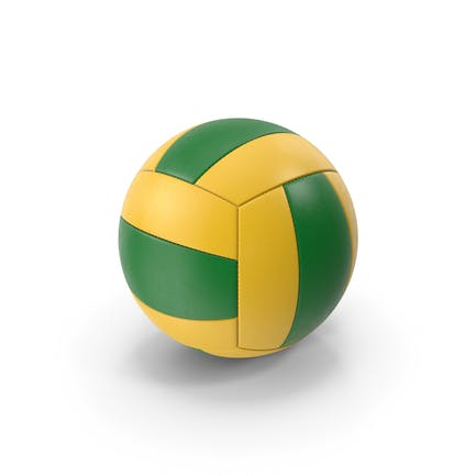 VolleyBall Green Yellow