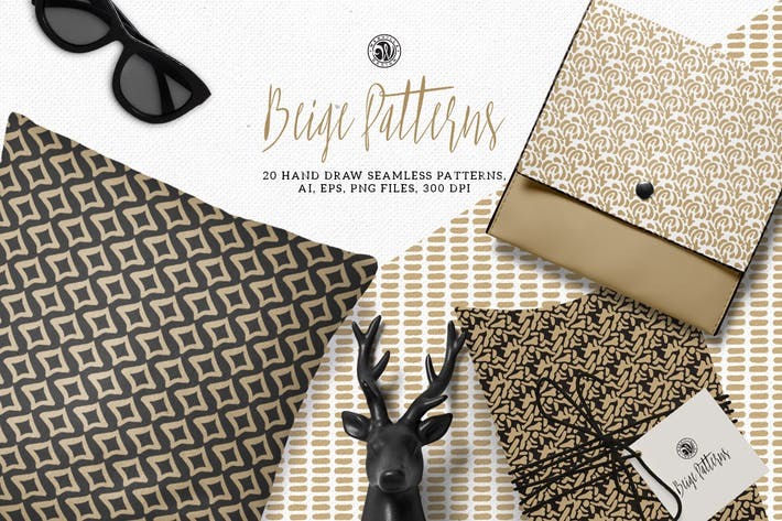 Cover Image For Beige Patterns