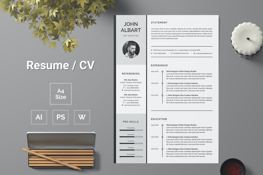 Resume Template 115