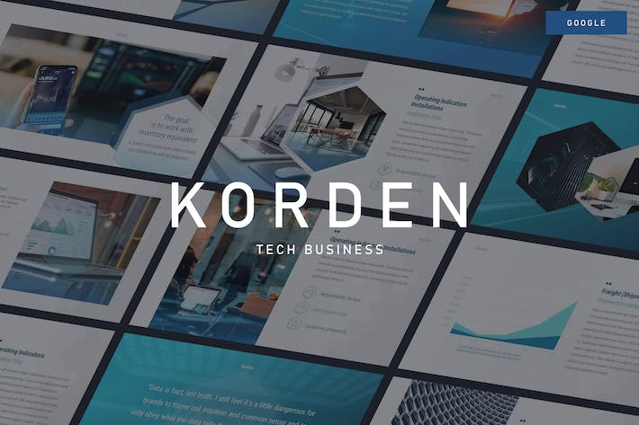 Thumbnail for KORDEN - Tech Business Google Slides