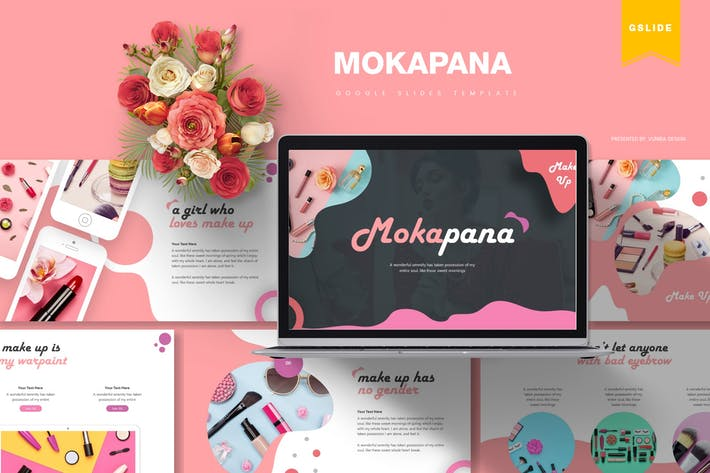 Cover Image For Mokapana | Шаблон слайдов Google