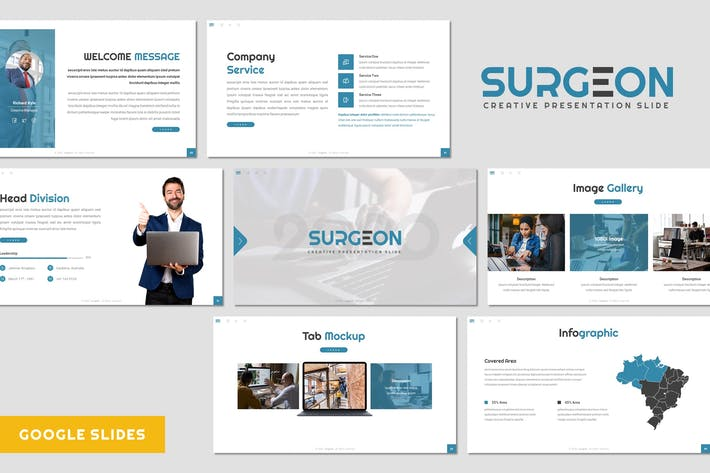 Surgeon - Business Google Slides Template