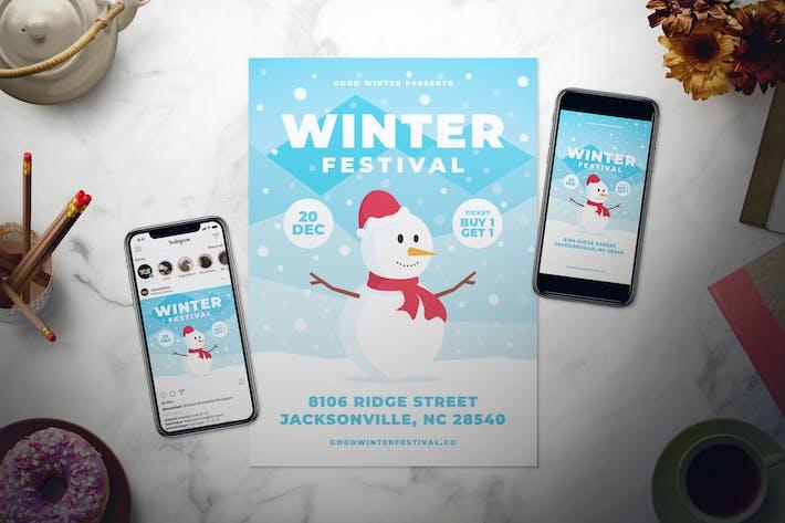Thumbnail for Зимний фестиваль Флаер