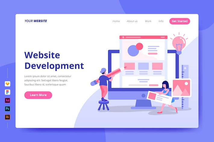 Thumbnail for Website Development - Landing Page