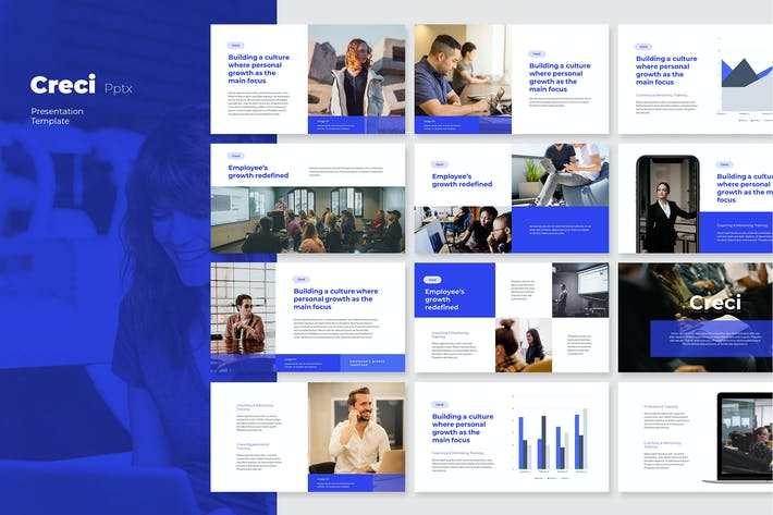 Cover Image For CRECI - Tech Business Powerpoint Template