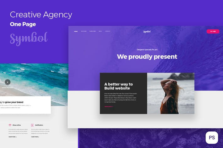 creative flat design for Business & Corporate
