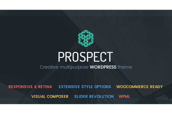 Thumbnail for Prospect V2 PSD Template