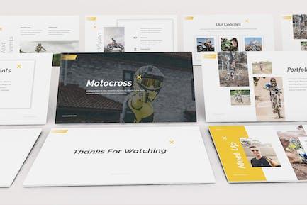 Motocross Keynote Template