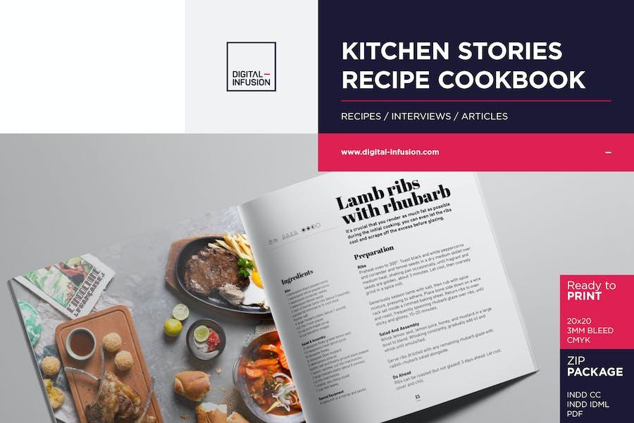 KITCHEN STORIES - Recipe Cookbook