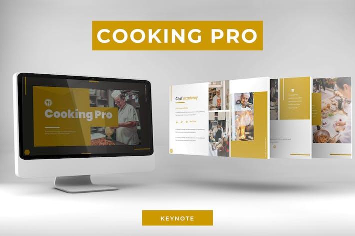 Cooking Pro - Шаблон Keynote