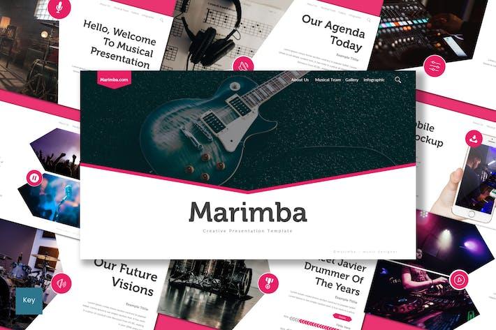 Thumbnail for Marimba - Шаблон Keynote