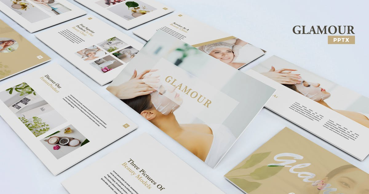 Download Glamour - Powerpoint Template by UnicodeID