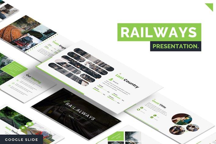 Thumbnail for Railalways  - Google Slides Template