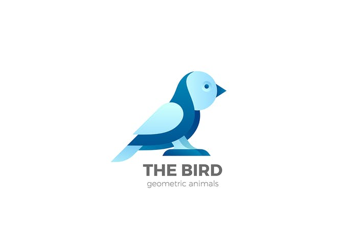 Thumbnail for Bird Logo Abstract Design