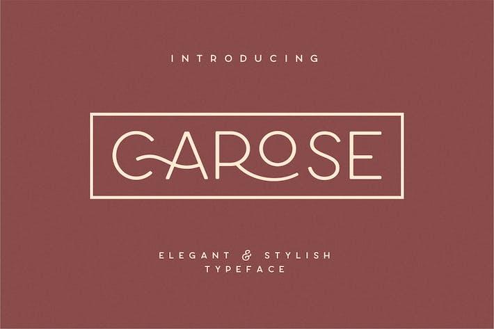 Thumbnail for Carose Sans- 6 Elegant Typeface