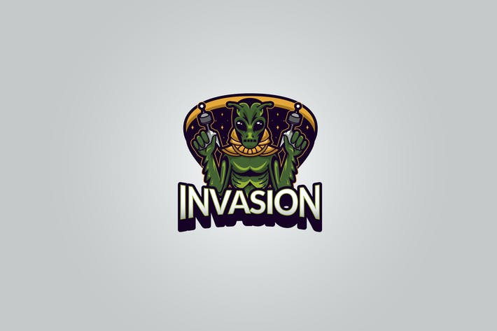 Thumbnail for Alien Invasion Logo