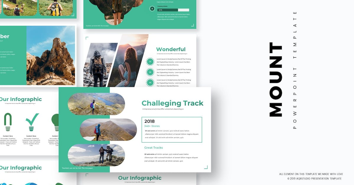 Download Mount - Powerpoint Template by aqrstudio