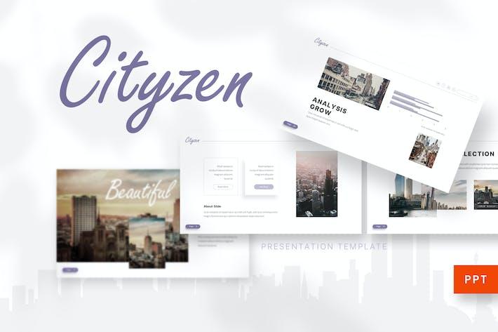 Thumbnail for Cityzen - Powerpoint Template