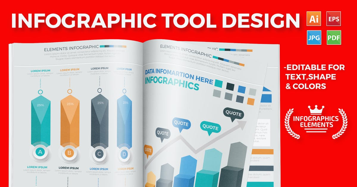 Download Infographic Template Design by mamanamsai