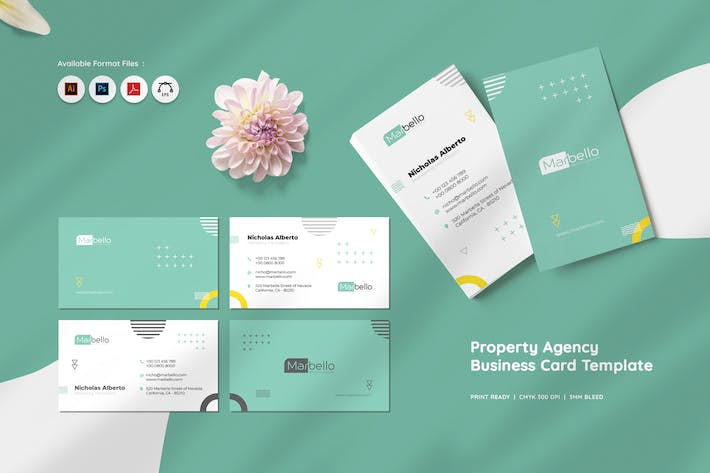 Thumbnail for Property Agency Business Card