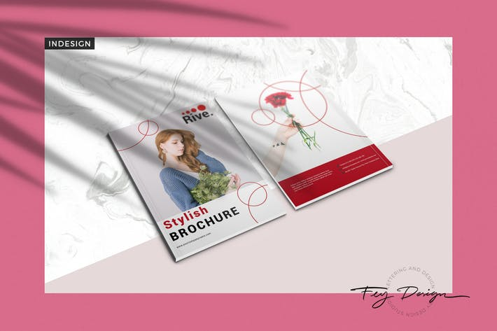 Cover Image For Rive - Multipurpose Brochure