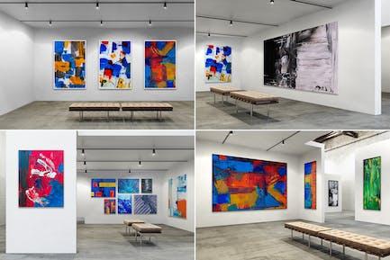Exhibition Art Gallery Mockups