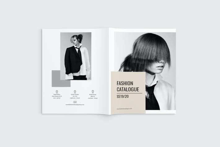 Thumbnail for Fashioneta - A4 Fashion Brochure Template