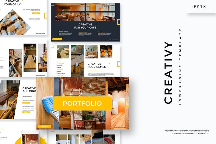 Thumbnail for Creativy - Powerpoint Template