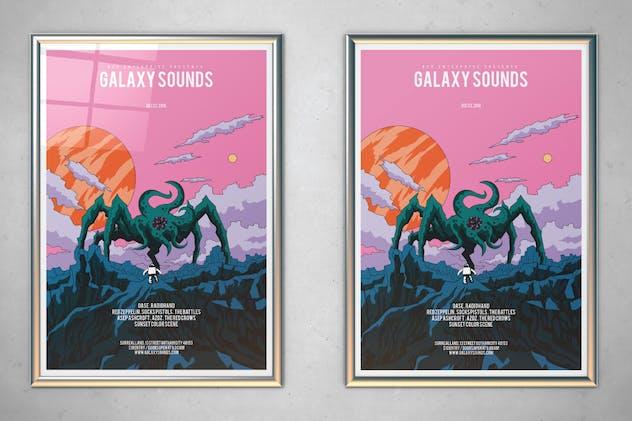 Galaxy Sounds Flyer
