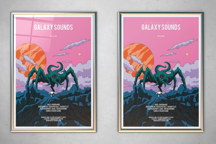 Thumbnail for Galaxy Sounds Flyer
