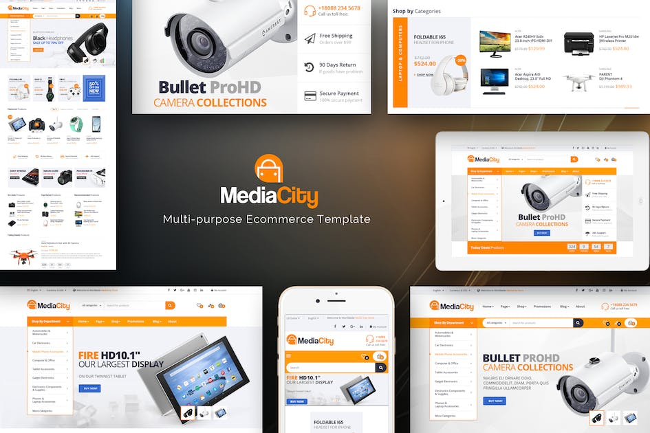 Download MediaCity - Technology Responsive Opencart Theme by Plaza-Themes
