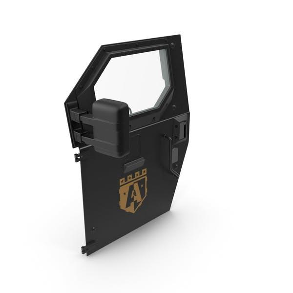 Armored Truck Door