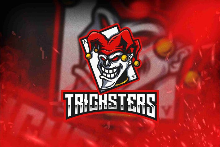 Thumbnail for Tricksters Esport Logo Template