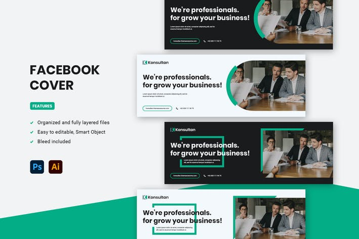 Facebook Cover - Konsultan