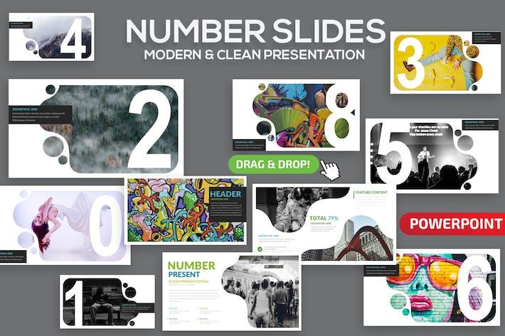 Количество слайдов Powerpoint