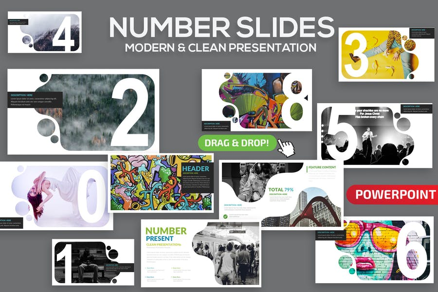 Number Slides Powerpoint