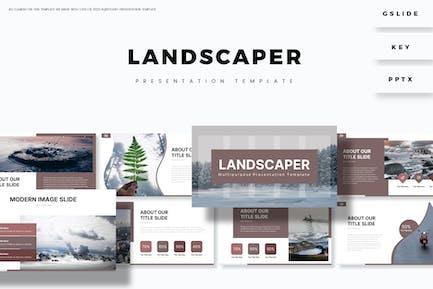 Ландшафтный дизайн - Шаблон презентации