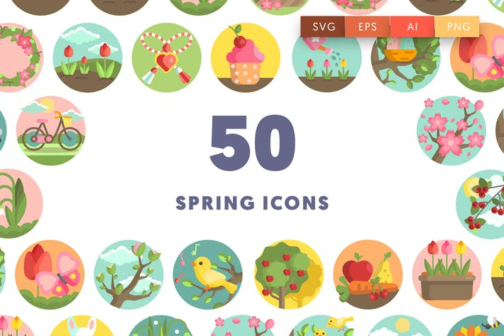 Thumbnail for Spring Icons