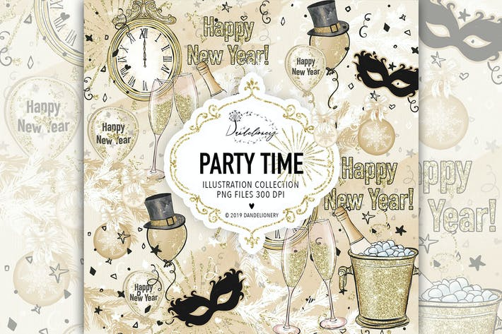 Thumbnail for Party Time design