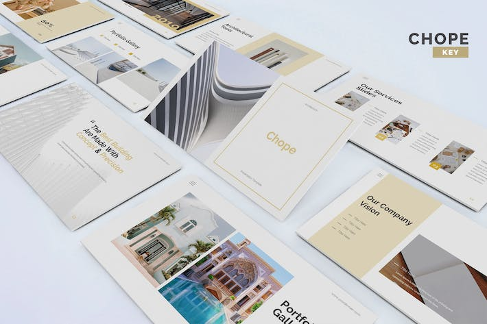 Thumbnail for Chope - Architecture Keynote Template