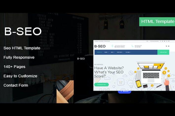 Thumbnail for B-Seo - HTML Template