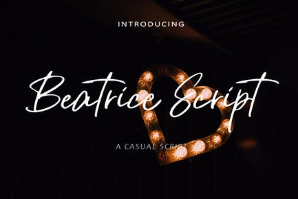 AM Beatrice Script - Casual Script