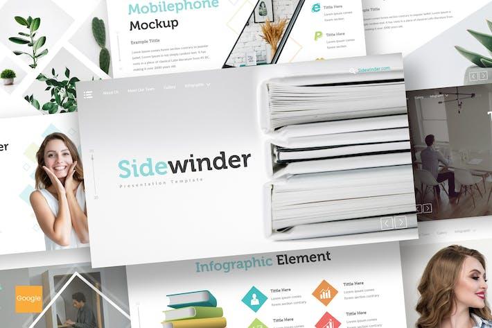 Thumbnail for Sidewinder - Google Slides Template